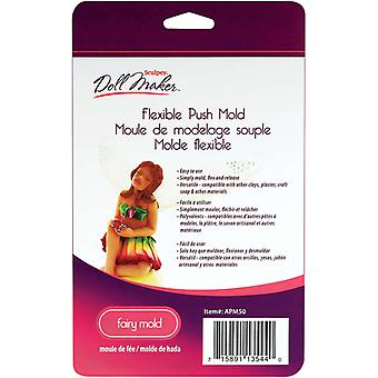 Sculpey Iii Doll Maker Flexible Push Mold Fairy S3apm 50
