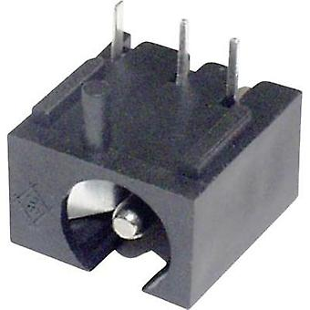 Low power connector Socket, horizontal mount 2 mm econ connect 1 pc(s)