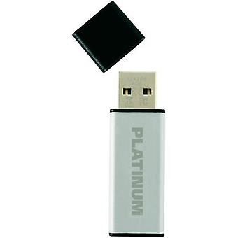 USB stick 4 GB Platinum ALU Silver 177555 USB 2.0