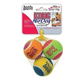 Kong Airdog Squeaker compleanno Ball (3)