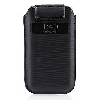 Belkin BKF8Z633CW Verve pull black leather case for iPhone 4 4 S