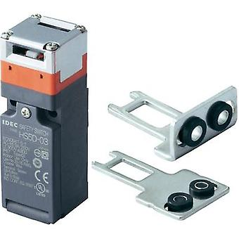 Safety button 300 Vac 10 A Steel lever (straight), Steel lever (curved) momentary Idec HS5D-12ZRNM-SET IP67 1 Set