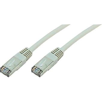 RJ49 Networks Cable CAT 5e F/UTP 10 m Grey UL-approved Digitus Professional