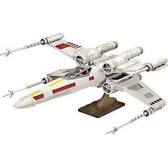 Revell 06690 Star Wars X-Wing Fighter Sci-Fi spacecraft assembly kit 1:29