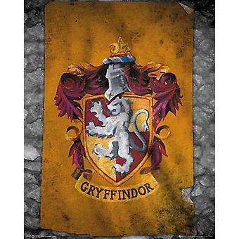 Harry Potter Gryffindor flaga podręczny grafika ze składnikiem