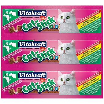 VITAKRAFT Cat Stick Mini anka & kanin 3 Pack (20 Pack)