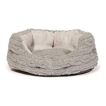 Bobble Soft Pewter Deluxe Slumber Bed 76cm (30