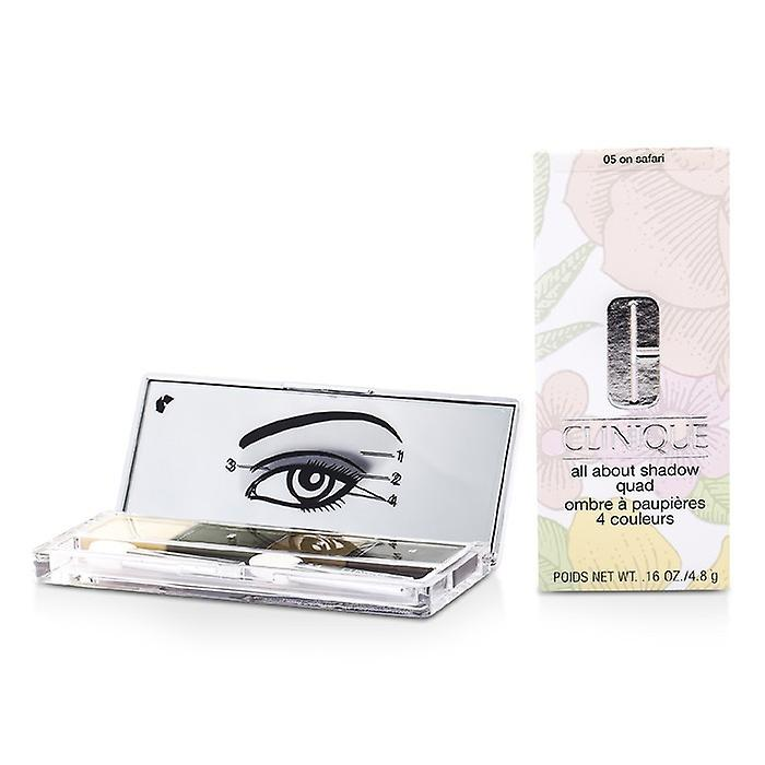 Clinique All About Shadow Quad - # 05 On Safari 4x1.2g/0.04oz