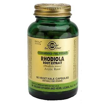 Solgar Rhodiola Root Extract 60 Vegetable Capsules
