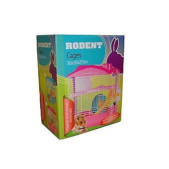 Rodent Cage for Small Animals Mice Hamster Guinea Pig Gerbil Degu