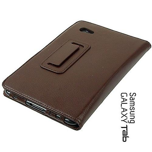 Cover strap Samsung Galaxy tab 2 7.0 P3100 P3110 bag Brown