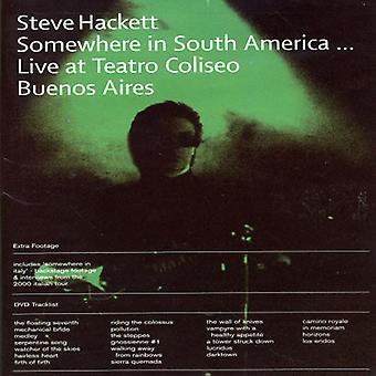 Steve Hackett - Somewhere in South America [DVD] USA import