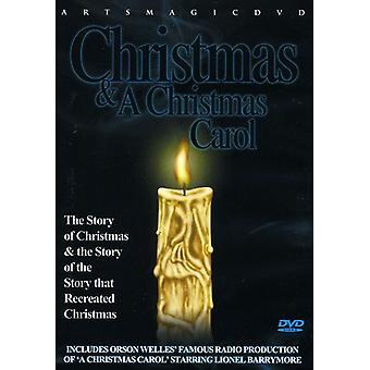Christmas & a Christmas Carol [DVD] USA import