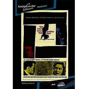 Manden med de gyldne Arm [DVD] USA importerer