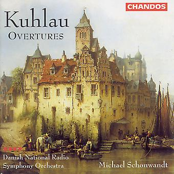 F. Kuhlau - Kuhlau: Overtures [CD] USA import