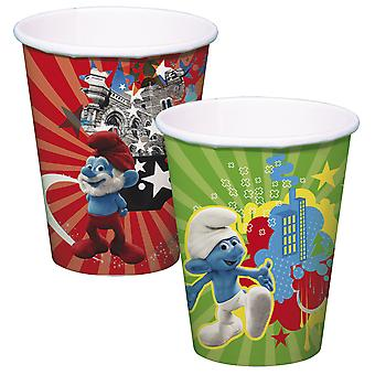 The Smurfs Cup Kids Party 8 piece children's birthday