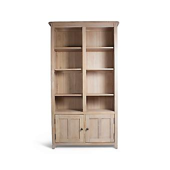 Direct Home Living Large Oak Bookcase - Wide