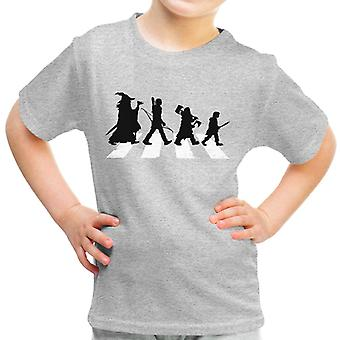 The Hobbit On Abbey Road Kid's T-Shirt