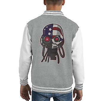 Hardware Cyborg Kid's Varsity Jacket