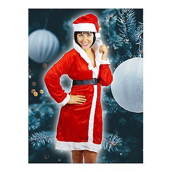 Vestuario de la mujer mujeres Navidad vestir Misses Claus