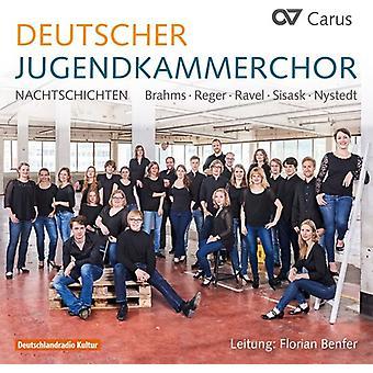 Hensel / Nystedt / Sisask / Reitnauer / Benfer - Coro Nacional de la juventud alemana: importación de Estados Unidos Nachtschichten [CD]