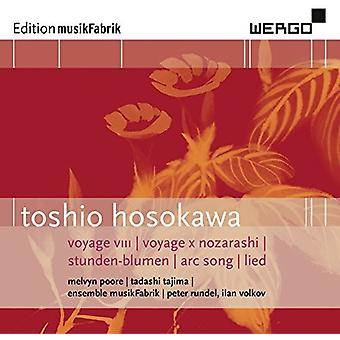 HOSOKAWA / Ensemble Musikfabrik - Hosokawa: Voyage VIII Voyage X Nozarashi [CD] USA import
