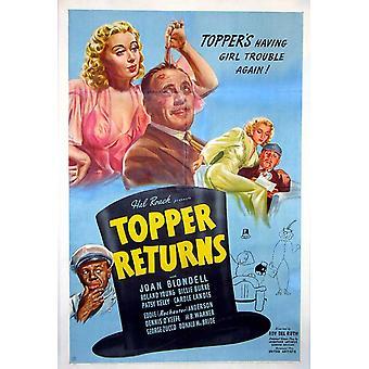 Topper returnerar filmaffisch (11 x 17)