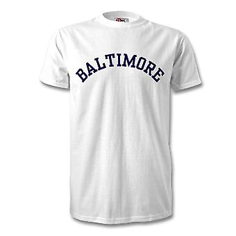 Baltimore College stijl T-Shirt