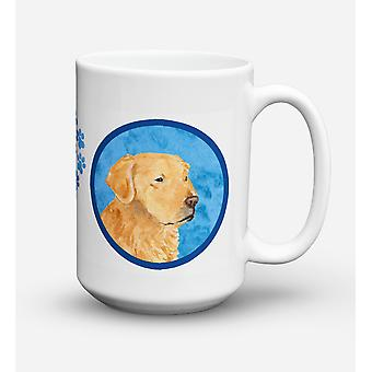 Golden Retriever  Dishwasher Safe Microwavable Ceramic Coffee Mug 15 ounce SS475