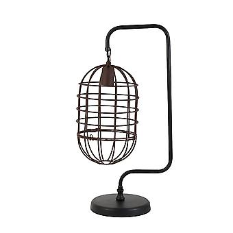 Light & Living Table Lamp 28x20x59 Cm BRENDA Wire Rust-black