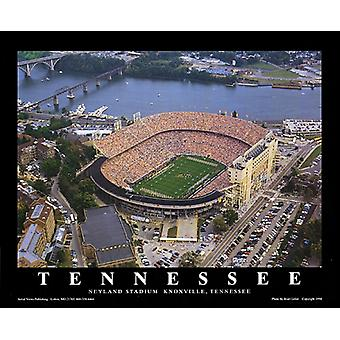 Neyland Stadium - Knoxville Tennessee Poster Print by Brad Geller (28 x 22)