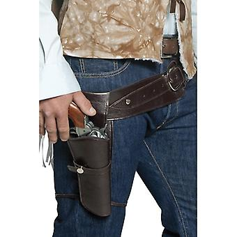 Authentieke Western zwerven Belt schutter & Holster