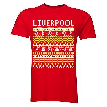 Liverpool Christmas T-Shirt (Red)