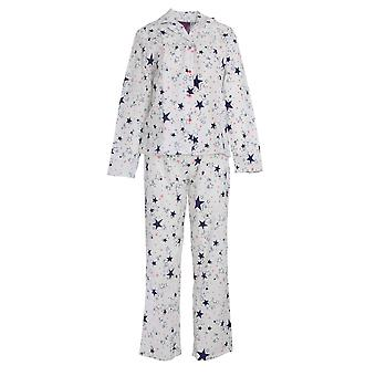 Foxbury Womens/Ladies Star Print Pyjama Set