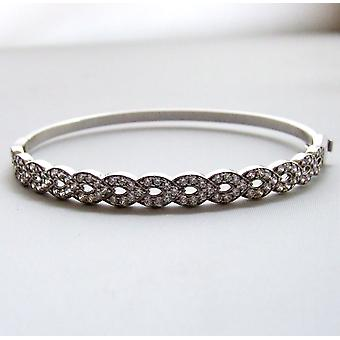 White Gold Bracelet with cubic zirconia