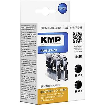 KMP Ink replaced Brother LC-123 Compatible Dual Bl