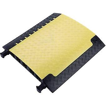 (L x W x H) 700 x 696 x 87 mm Black, Yellow Adam Hall Content: 1 pc(s)
