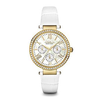 Caravelle New York Women's 44N104 Crystal Strap Bracelet