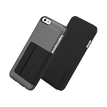 Incipio Highland fallet täcker för Apple iPhone 6 (Gunmetal/svart) - IPH-1183-GMTLB