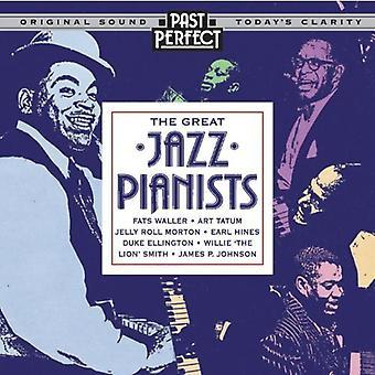 Bra jazzpianister: Instrumental Jazz från 20-talet 30s & 40s ljud-CD