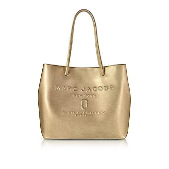 Marc Jacobs women's M0013698710 gold leather tote