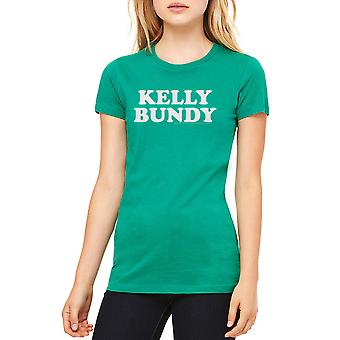 Married With Children Kelly Bundy Women's Kelly Green T-shirt