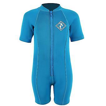 2 素足ネオプレン クラシックな赤ちゃんウェット スーツ - アクア