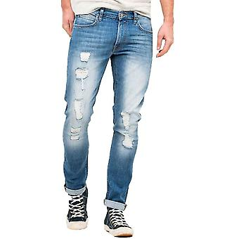 Lee Luke Skinny Ripped Jeans  Pacific Wash
