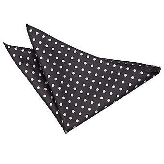 Black Polka Dot Pocket Square