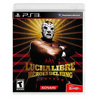 Lucha Libre Aaa helter Del Ring PS3 spill