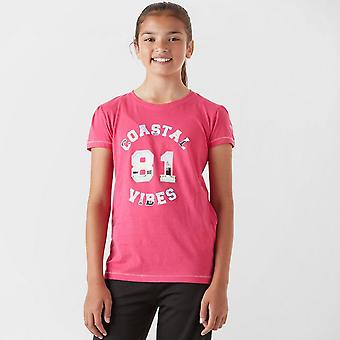 Regatta Girls' Bosley CoolWeave T-Shirt