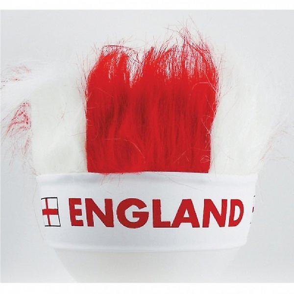 Union Jack bære England St George Crazy hår