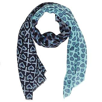 Scarve Turquoise AS8P3X Twin Set Woman