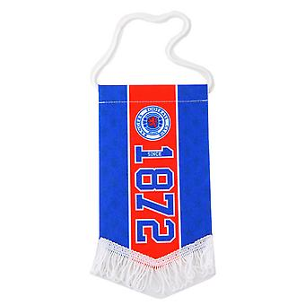 Rangers FC Official Established Mini Pennant